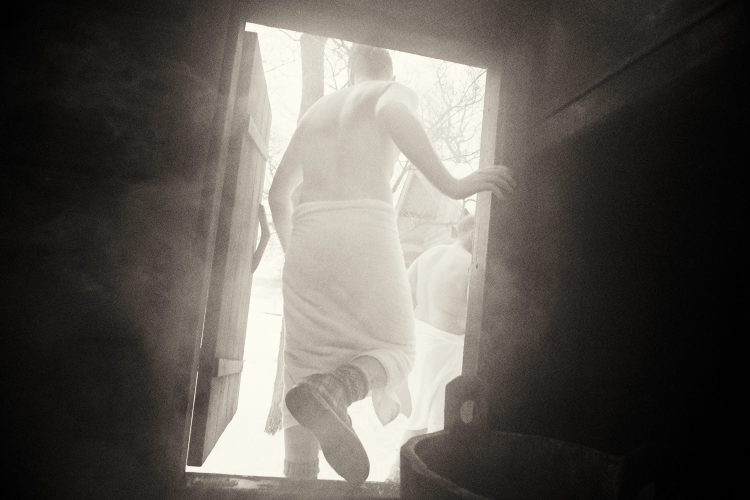 Kai-Uwe Gundlach - sauna for KLAFS, Helsinki