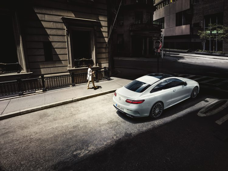 Kai-Uwe Gundlach - campaign Mercedes E class coupe, New York