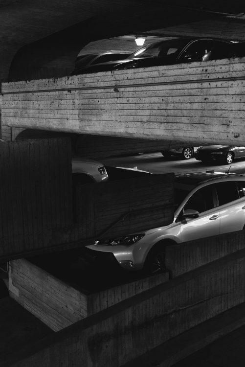 Kai-Uwe Gundlach - Temple Parking, Portland